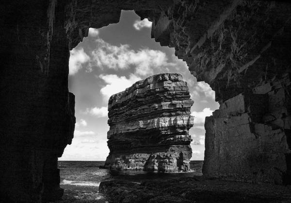 Tony Reddington Poster featuring the photograph Cave With A View by Tony Reddington