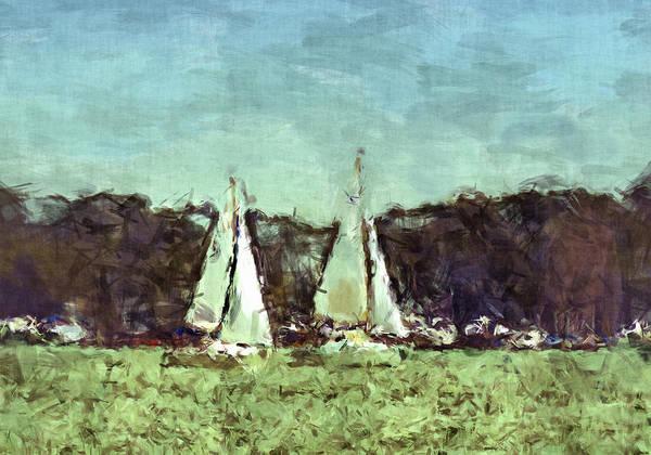 Sport Poster featuring the photograph Sail Away by Susan Leggett