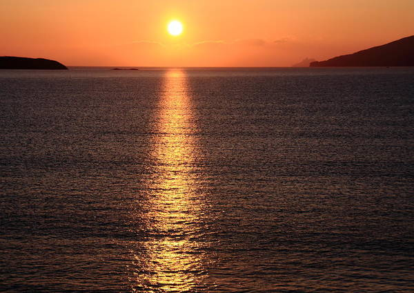 Sunrise Poster featuring the photograph Sun Path by Aidan Moran