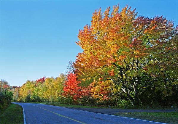 Whitfish Bay Scenic Byway Poster featuring the photograph Whitefish Bay Scenic Byway by James Rasmusson
