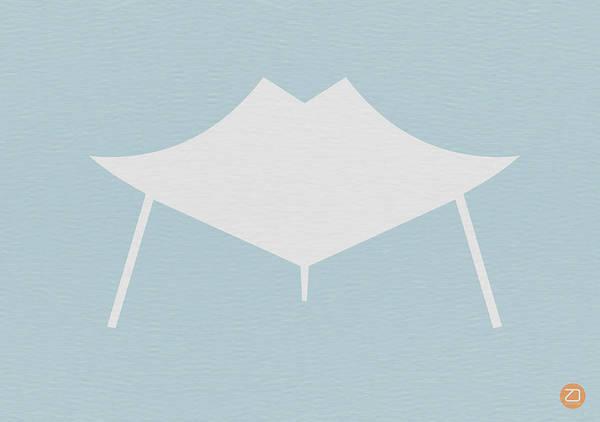 Chair Poster featuring the digital art Modern Chair by Naxart Studio