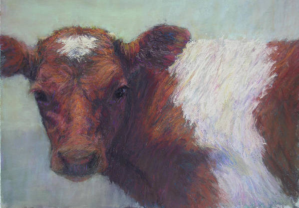 Cows Poster featuring the painting Foundling by Susan Williamson