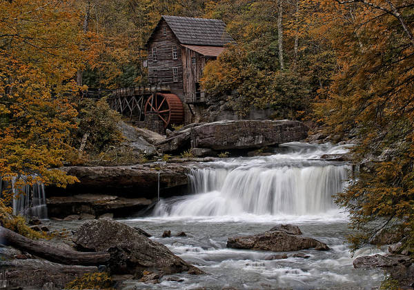 Mill Poster featuring the photograph Glade Creek Mill 2011 by Wade Aiken