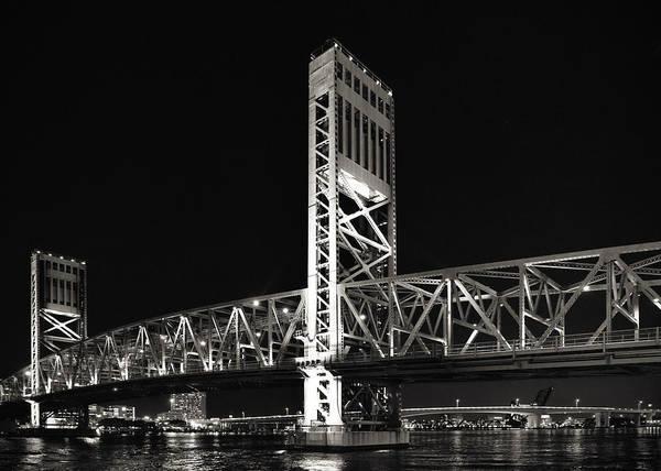 Main Poster featuring the photograph Jacksonville Florida Main Street Bridge by Christine Till