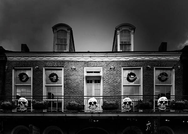 Skull Poster featuring the photograph New Orleans- A Skull Paradise by Christine Till