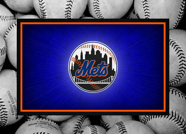 Mets Poster featuring the photograph New York Mets by Joe Hamilton