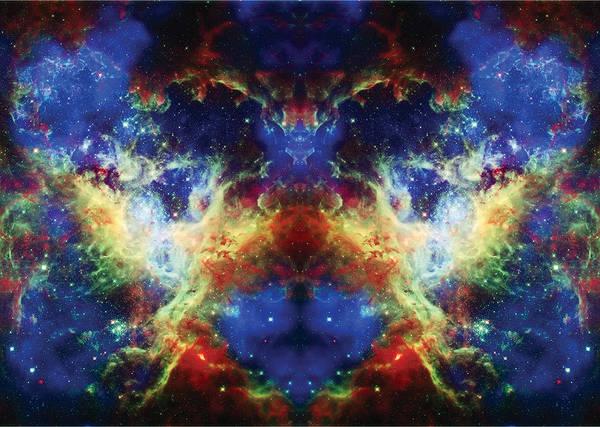 Tarantula Nebula Poster featuring the photograph Tarantula Reflection 2 by Jennifer Rondinelli Reilly - Fine Art Photography