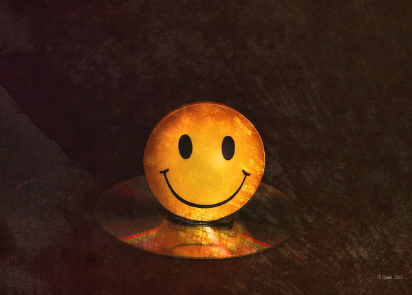 Still Life Poster featuring the digital art Smile by Peter Chilelli