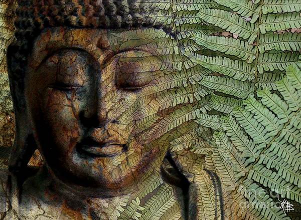 Buddha Art Poster featuring the photograph Convergence Of Thought by Christopher Beikmann