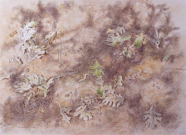 Early Fall Poster featuring the mixed media Early Fall by Michele Myers