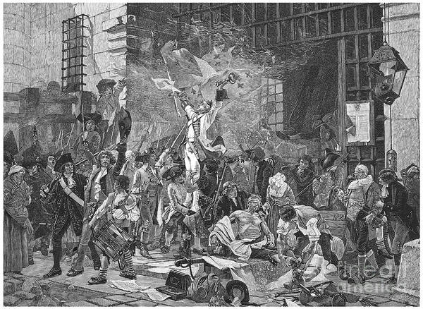 1789 Poster featuring the photograph French Revolution, 1789 by Granger