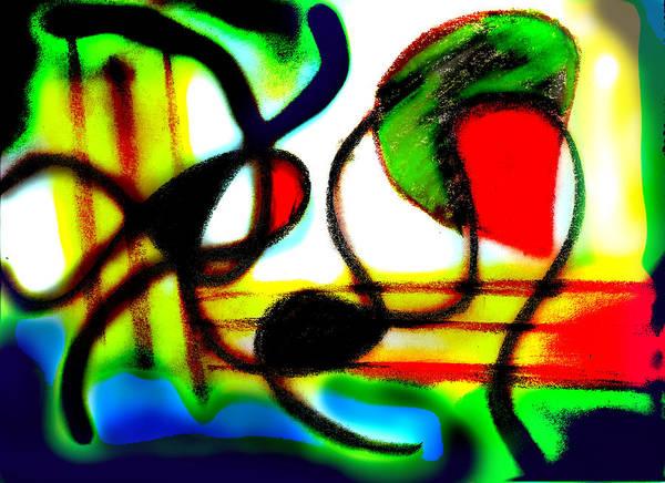 Chalk Poster featuring the digital art Alien Aracno Surgery 2 by Stephanie Margalski