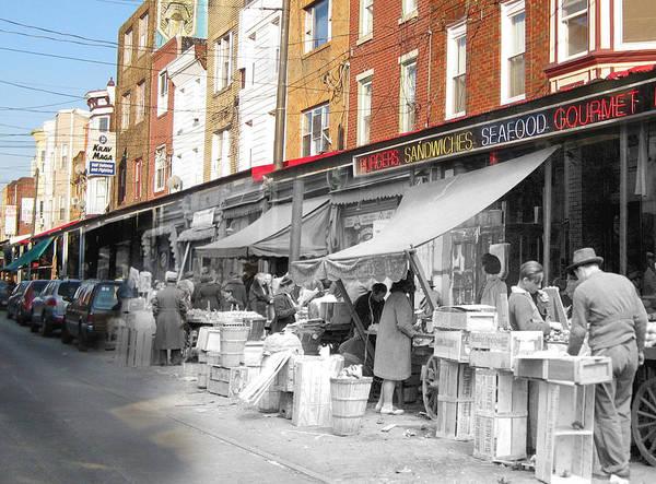 Philadelphia Poster featuring the photograph Italian Market by Eric Nagy