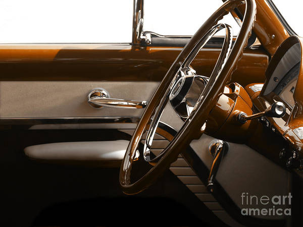 Cars Poster featuring the photograph 1953 Mercury Bucket by Steven Digman