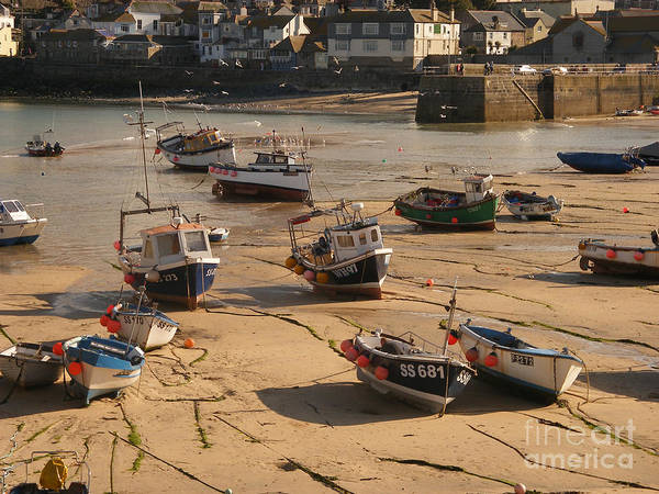 Boat Poster featuring the photograph Boats On Beach 03 by Pixel Chimp