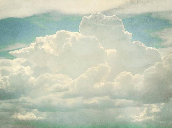 Brett Poster featuring the digital art Cloud Series 2 Of 6 by Brett Pfister