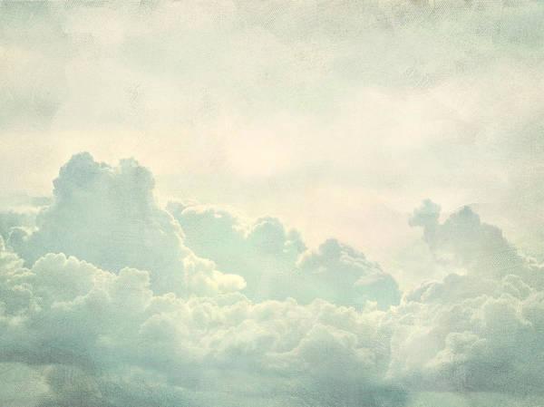 Brett Poster featuring the digital art Cloud Series 5 Of 6 by Brett Pfister