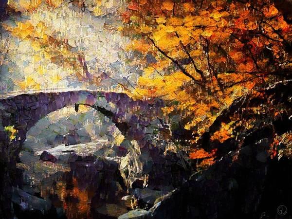 Landscape Poster featuring the digital art Colors Of Autumn by Gun Legler