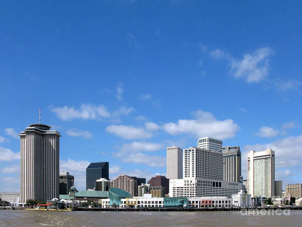 New Poster featuring the photograph New Orleans Louisiana by Olivier Le Queinec