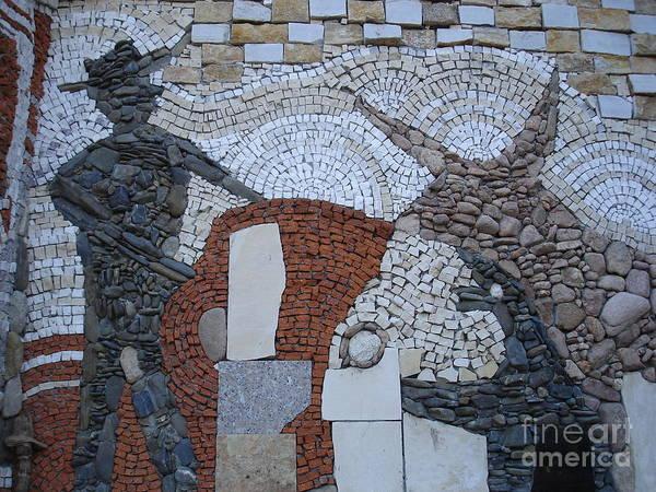 Stone Poster featuring the relief Toreador by Nikolay Ilchevski