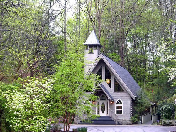 Artist Loop Poster featuring the photograph Wedding Chapel by Helen Haw