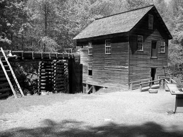 Grist Mill Poster featuring the photograph Grist Mill by Regina McLeroy