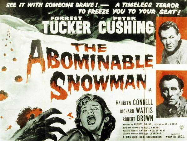 Movies Poster featuring the photograph The Abominable Snowman, Aka The by Everett