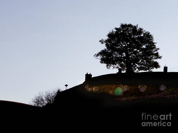 The Shire Poster featuring the photograph Bagend Dusk by Linde Townsend