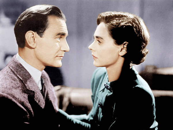 1940s Movies Poster featuring the photograph Brief Encounter, From Left Trevor by Everett