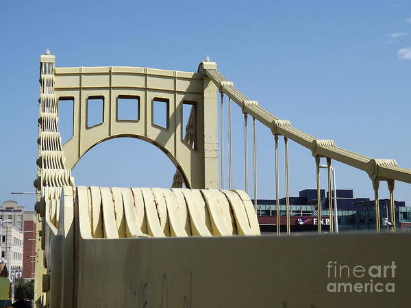 Roberto Poster featuring the photograph Clemente Bridge by Chad Thompson