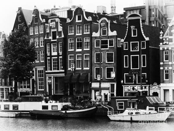 Amsterdam Poster featuring the photograph Homes Of Amsterdam by Leslie Leda
