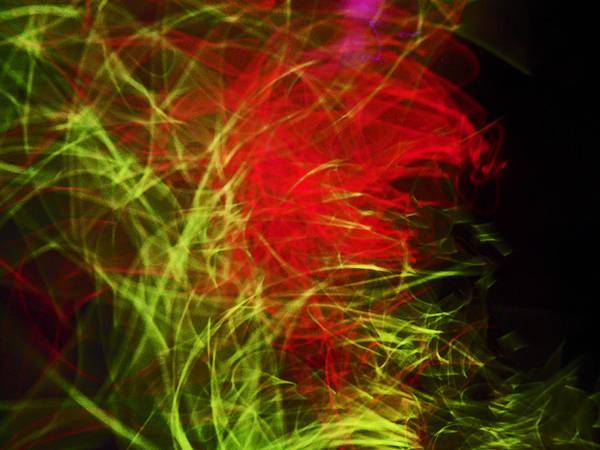 Liquid Saphire Poster featuring the photograph Liquid Saphire 8 by Cyryn Fyrcyd