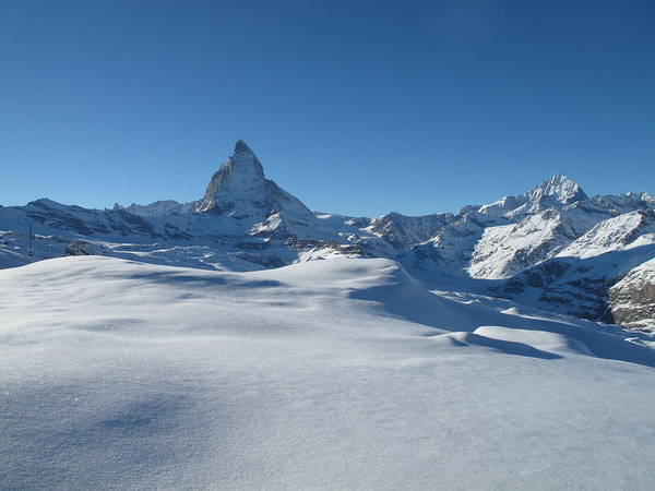 Horizontal Poster featuring the photograph Matterhorn, Switzerland by Thepurpledoor
