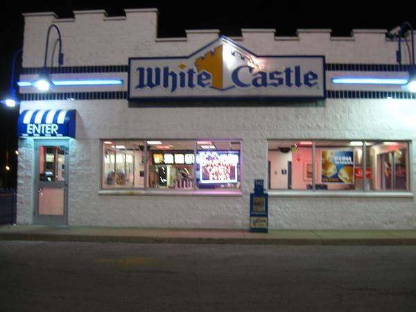 White Castle Poster featuring the photograph Midnight Snack by Todd Sherlock