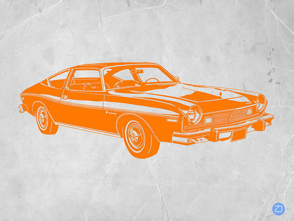 Poster featuring the photograph Muscle Car by Naxart Studio
