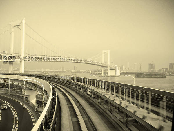 Tokyo Poster featuring the photograph Tokyo Metro Ride by Naxart Studio