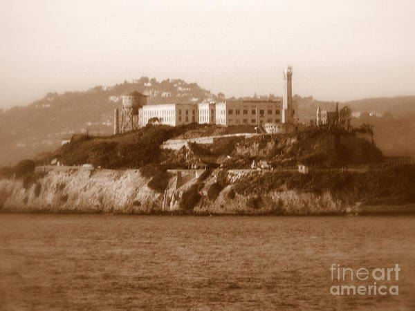 San Francisco Poster featuring the photograph Timeless Alcatraz by Carol Groenen