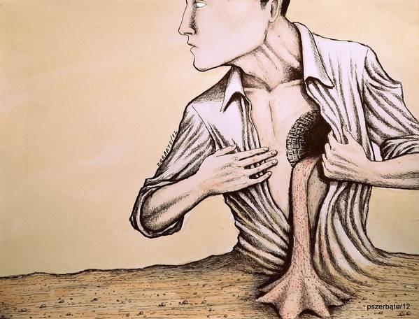 Reason Poster featuring the digital art No Quiero Vivir En La Pobreza De La Racionalidad by Paulo Zerbato