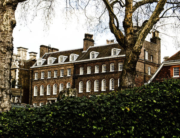 British Poster featuring the photograph Yeoman Warders Quarters by Christi Kraft