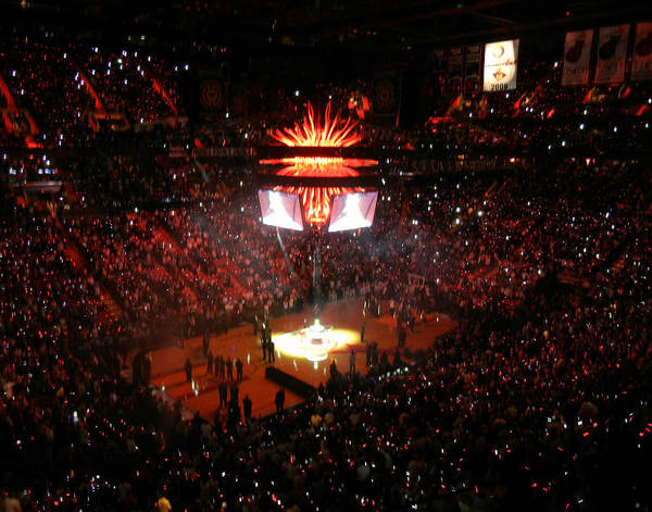 Miami Poster featuring the photograph Miami Heat by J Anthony