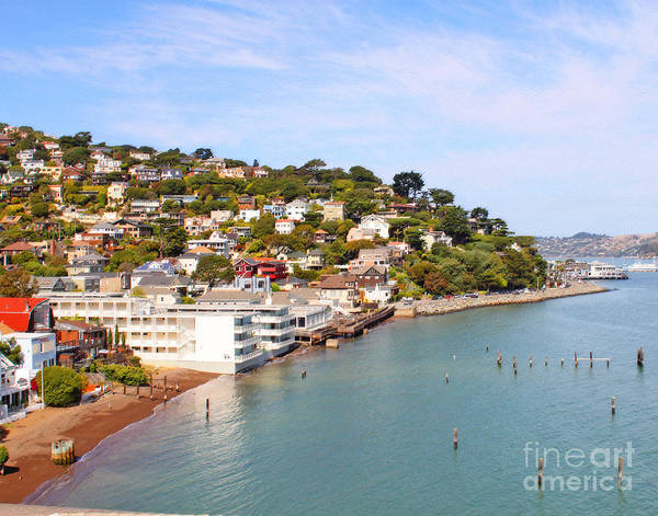 Sausalito Poster featuring the photograph Sausalito California by Jack Schultz