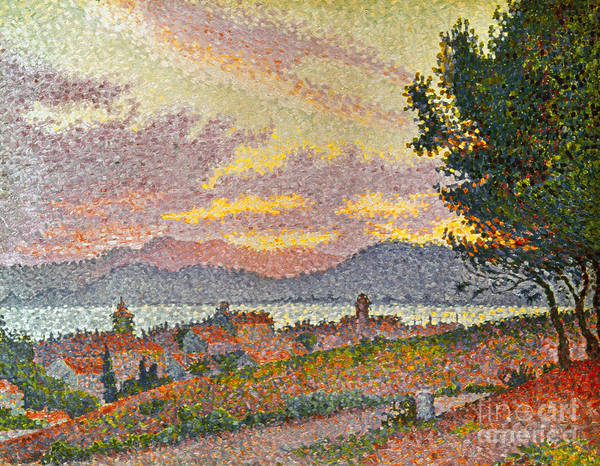 1896 Poster featuring the photograph Signac: St Tropez, 1896 by Granger