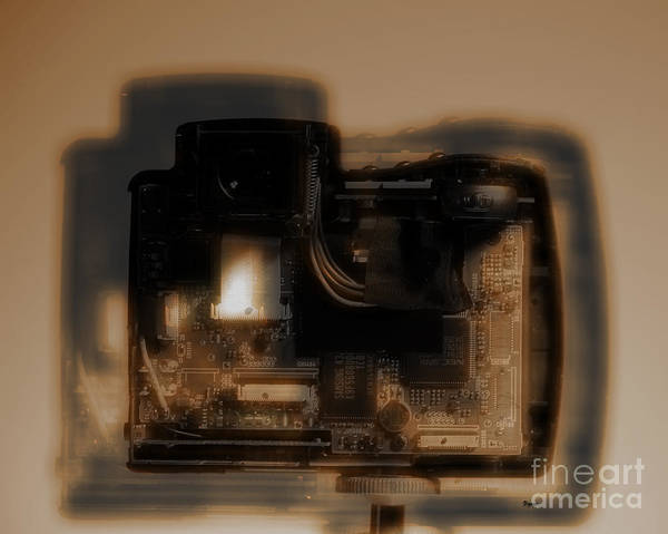 Camera Poster featuring the photograph Behind The Lens by Steven Digman