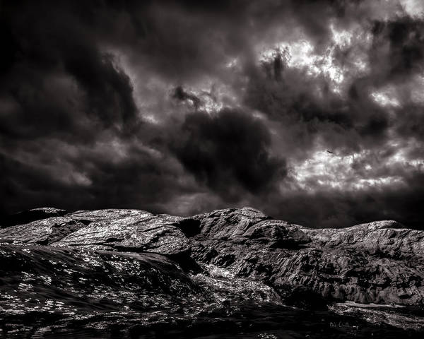 Nature Poster featuring the photograph Calm Before The Storm by Bob Orsillo
