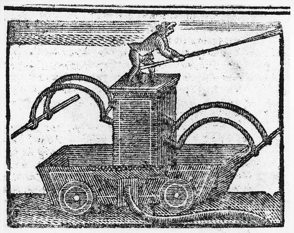 1769 Poster featuring the photograph Fire Engine, 1769 by Granger