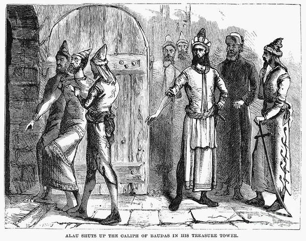 1258 Poster featuring the photograph Siege Of Baghdad, 1258 by Granger