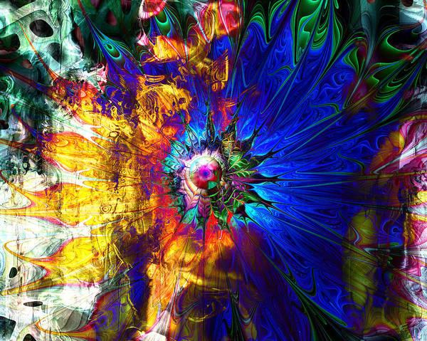 Digital Art Poster featuring the digital art Souls United by Amanda Moore