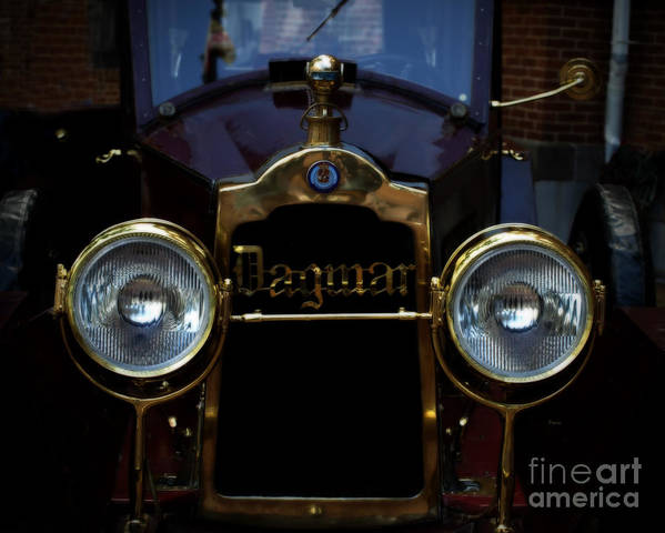 Cars Poster featuring the photograph The Dagmar by Steven Digman