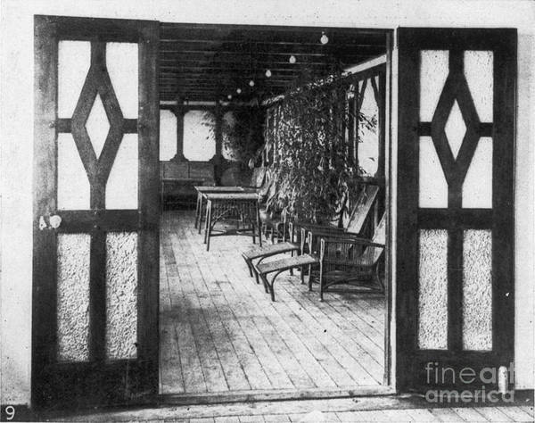 1912 Poster featuring the photograph Titanic: Private Deck, 1912 by Granger