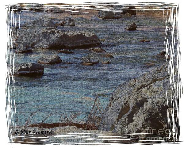 Truckee River Poster featuring the photograph River Flows by Bobbee Rickard